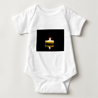 One candle baby bodysuit