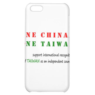One China; One Taiwan iPhone 5C Case