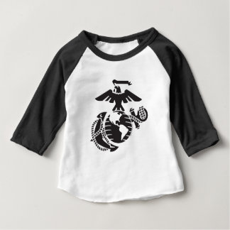One-Color EGA - Black Baby T-Shirt
