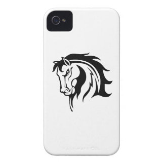 ONE COLOR HORSE iPhone 4 CASES