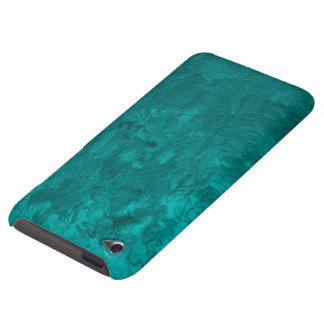 one color painting,aqua iPod touch case