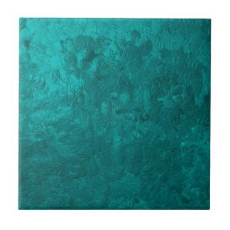 one color painting aqua ceramic tiles
