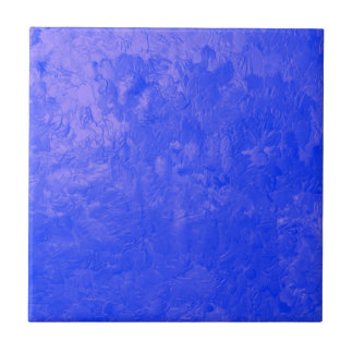 one color painting blue tiles