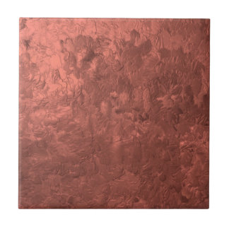 one color painting bronze ceramic tile