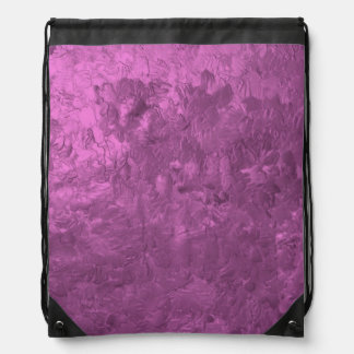 one color painting pink backpacks