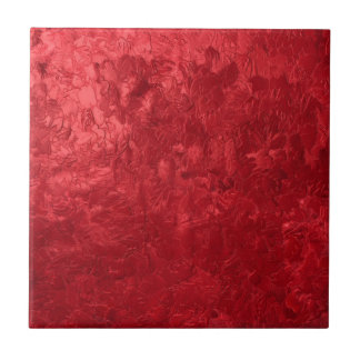 one color painting red tile