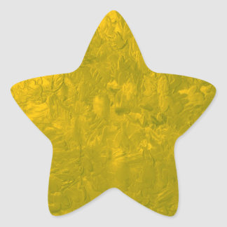 one color painting yellow sticker