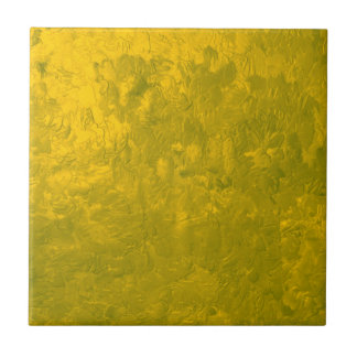 one color painting yellow tiles