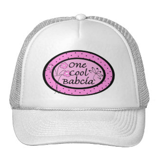 One Cool Babcia Cap