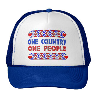 One Country One People Trucker Hats