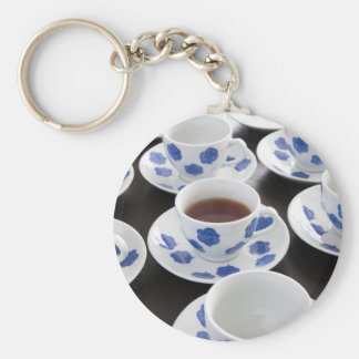 One Cup of Tea Keychain