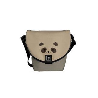 One Cute Panda Courier Bag