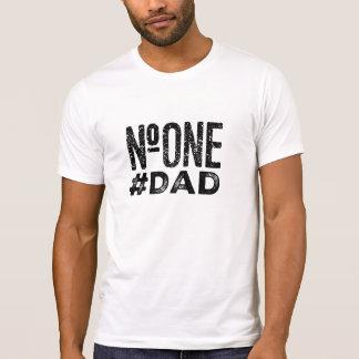 #one #dad hashtag tshirt