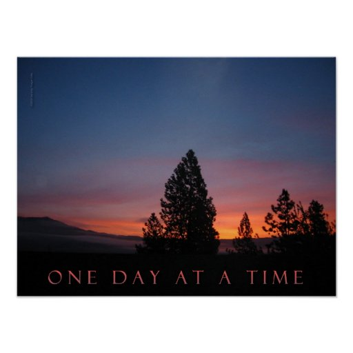One Day at a Time April Sunrise Poster