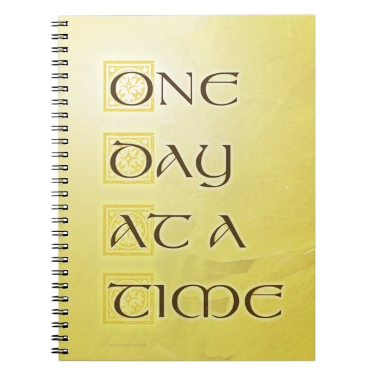 One Day at a Time Coreposis Notebooks