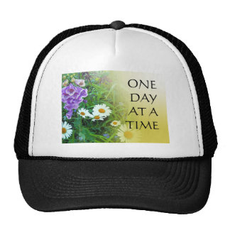 One Day at a Time Flower Garden Trucker Hat