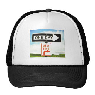 ONE DAY AT A TIME TRUCKER HATS