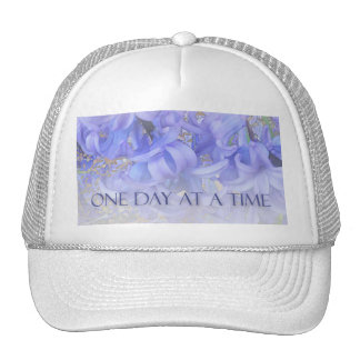 One Day at a Time Hyacinths Mesh Hats
