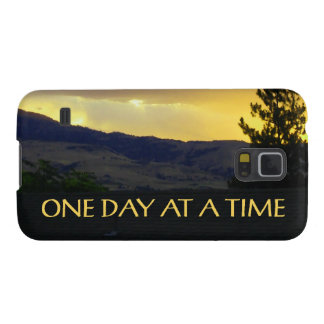 One Day at a Time July Sky Galaxy S5 Cases