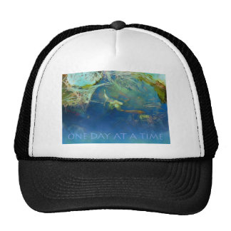 One Day at a Time Koi Pond Trucker Hats
