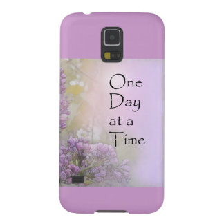 One Day at a Time Lilacs Case For Galaxy S5