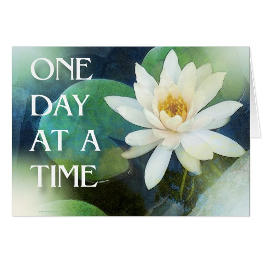 One Day at a Time Lotus One Card