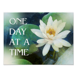 One Day at a Time Lotus One Poster