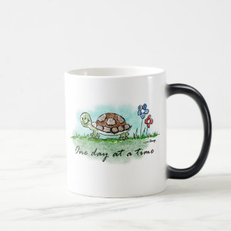 One Day at a Time Morphing Mug