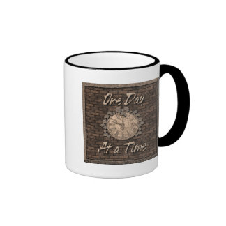 One Day at a Time Coffee Mugs