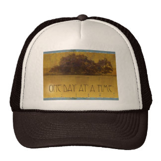 One Day at a Time Oaks by Lake Mesh Hat