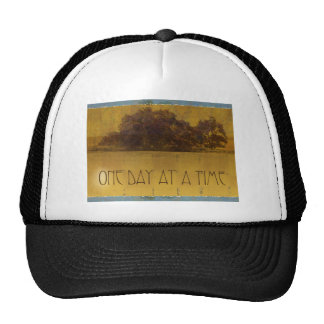 One Day at a Time Oaks by Lake Mesh Hats