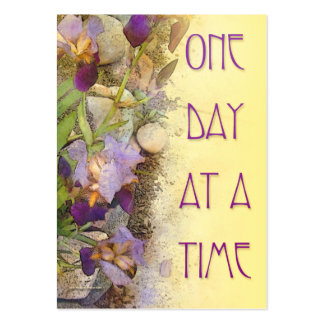 One Day at a Time ODAT Irises Business Cards