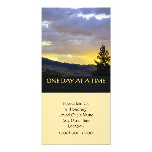 One Day at a Time Photo Cards
