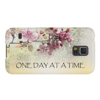 One Day at a Time Pink Blossoms Cases For Galaxy S5