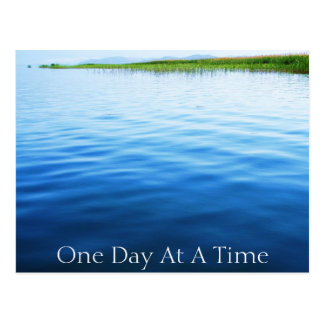 One Day At A Time Postcard
