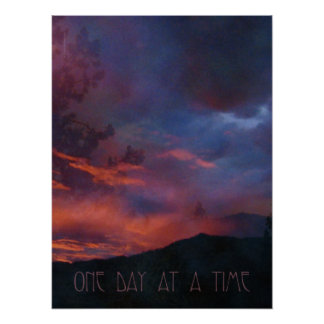 One Day at a Time - Quiet Sunrise Print