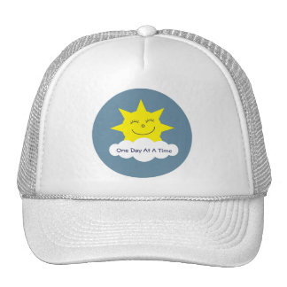 One Day At A Time recovery cap Trucker Hat