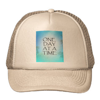 One Day at a Time September Sky Trucker Hats