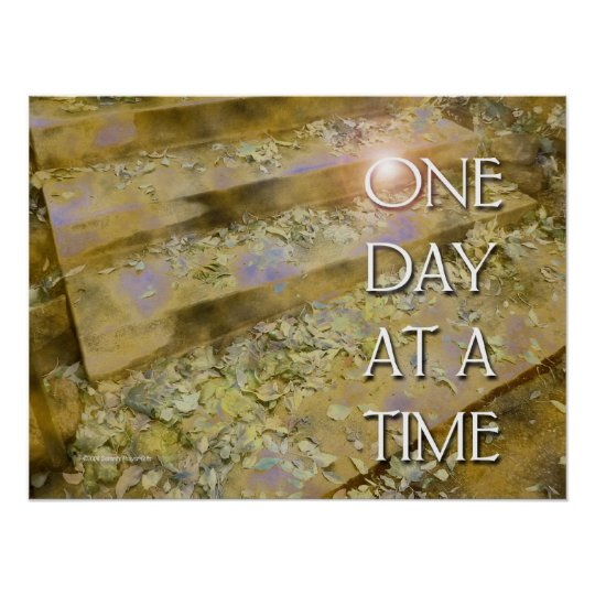 One Day at a Time Steps and Leaves