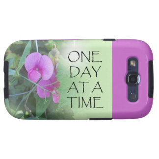 One Day at a Time Sweet Peas Samsung Galaxy SIII Cover