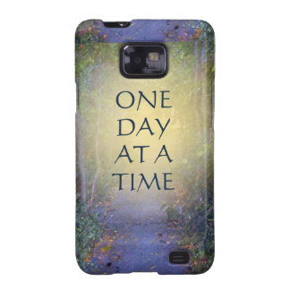 One Day at a Time Tree Canopy Galaxy S2 Cover