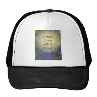 One Day at a Time Tree Canopy Mesh Hat