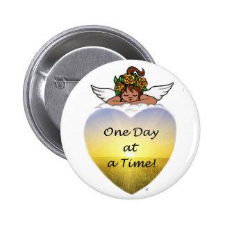 One Day Ethnic Angel 6 Cm Round Badge