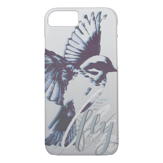One day I'll fly away. iPhone 7 Case