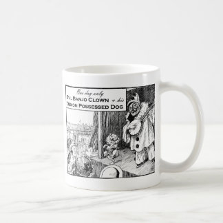 One Day Only: Evil Banjo Clown Mugs