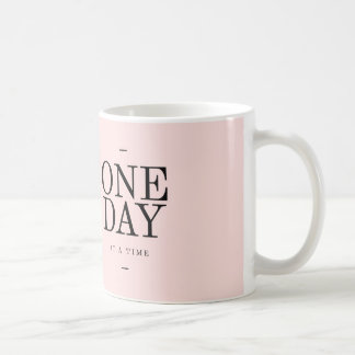One Day Quote Mugs Pink Gift Encouragement Illness