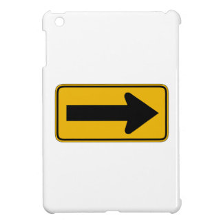 One Direction Arrow Right, Traffic Warning Signs Case For The iPad Mini