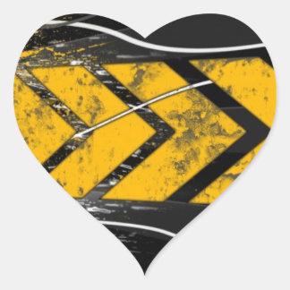 One Direction Heart Sticker
