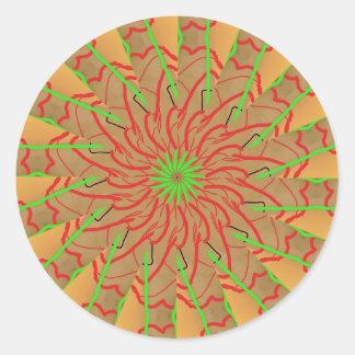 one direction mf round sticker