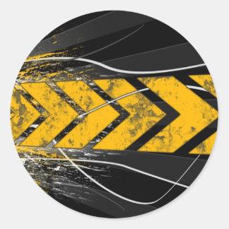 One Direction Round Sticker